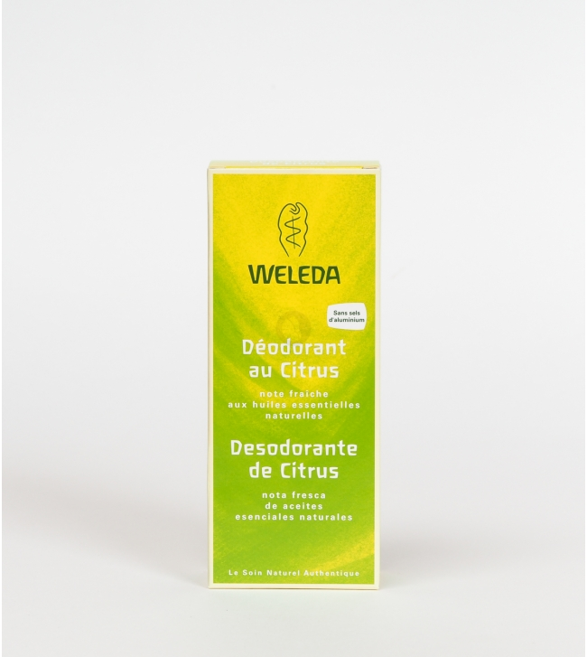 Déodorant citrus spray - 100ml