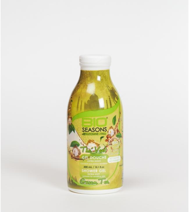 Gel douche automne thé vert - 300ml